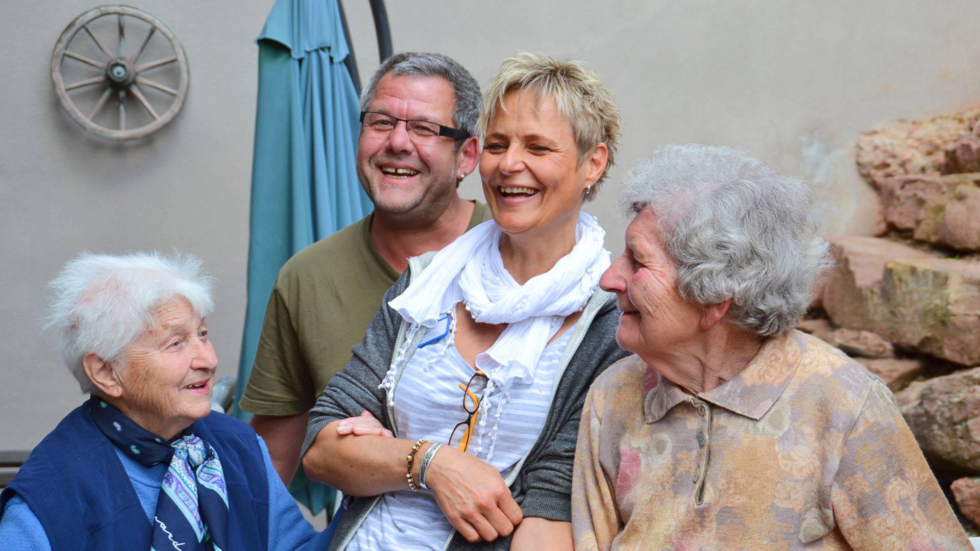 Image-Slide Wohnstift-Familie